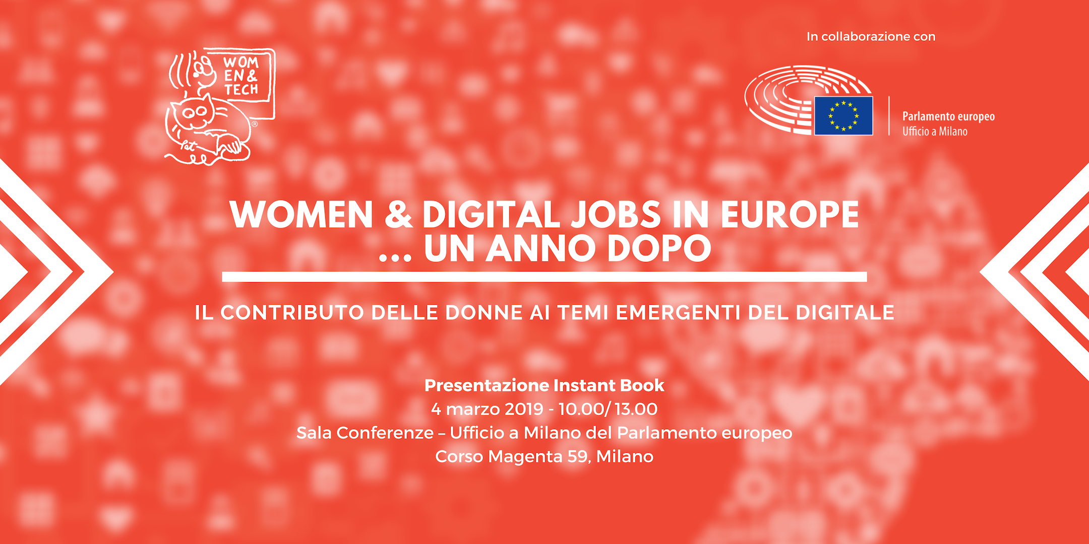 Women & Digital Jobs in Europe - Presentazione Instant Book
