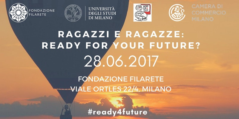 Ragazzi e ragazze: ready for your future?