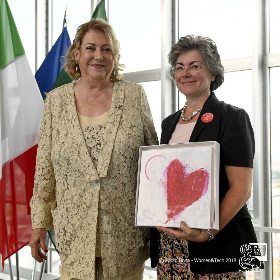 Diana Bracco e Daniela Trabattoni
