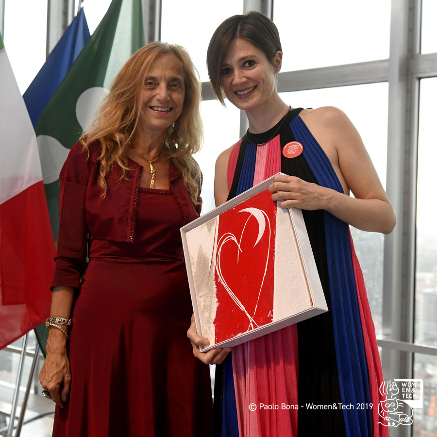 Mariapia Abbracchio e Silvia Bencivelli