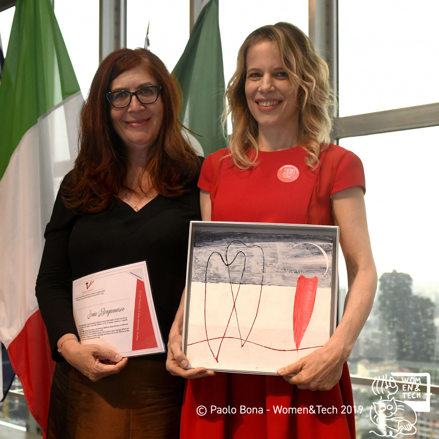 Laura Piazzi e Sonia Bergamasco