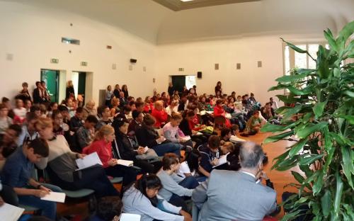 FutureCamp Europe Biotech: 130 ragazzi incontrano aziende e ricercatori