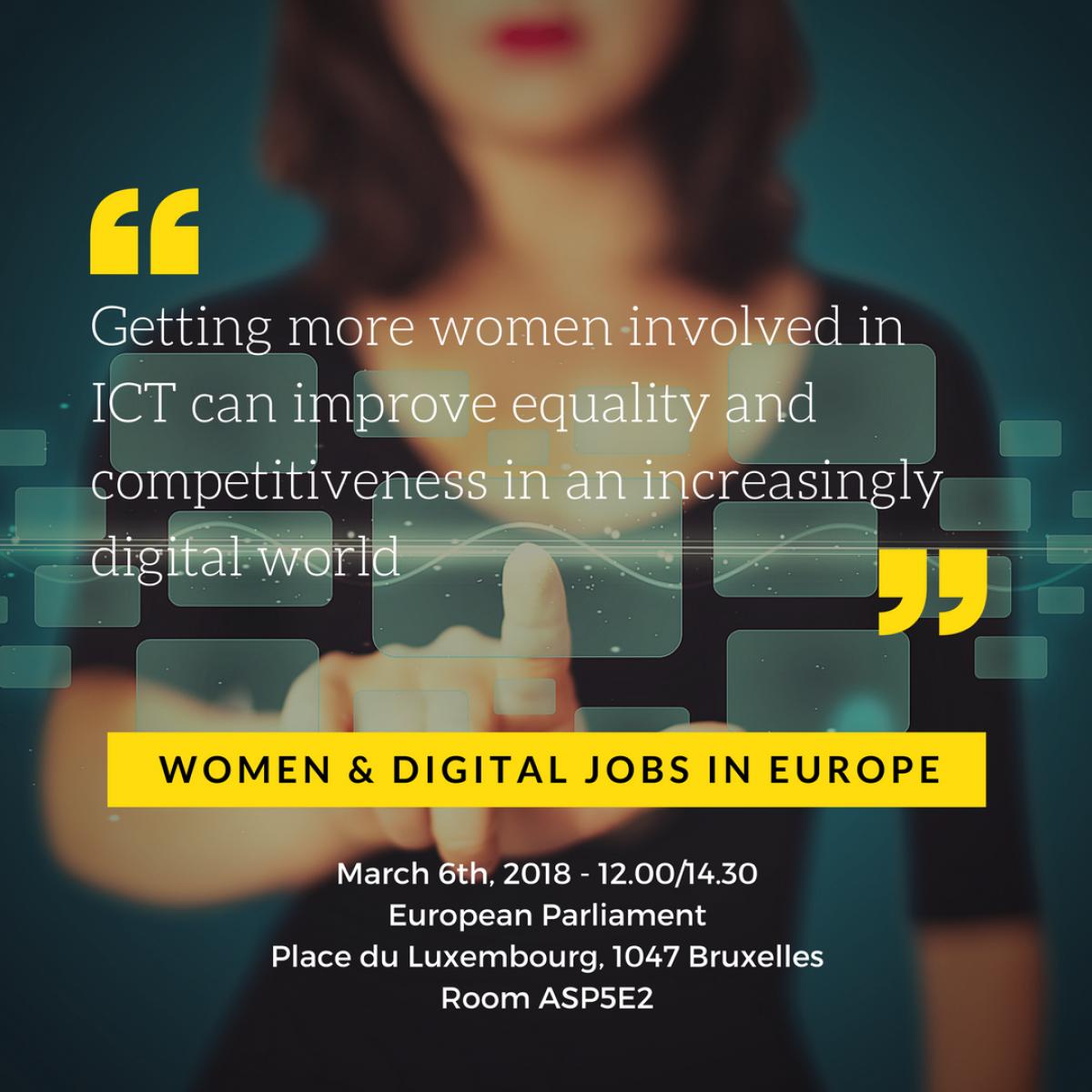 Women & Digital Jobs in Europe