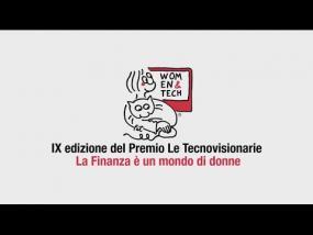 """Premio Internazionale """"Le Tecnovisionarie®"""" 2016 - La finanza è un mondo di donne"""