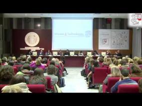 Intervento di Adriana Albini, responsabile della ricerca Oncologica dell'Irccs MultiMedica.