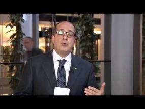 Saluto di Paolo De Castro, Pres. Comm. agricoltura e sviluppo rurale del Parlamento europeo.