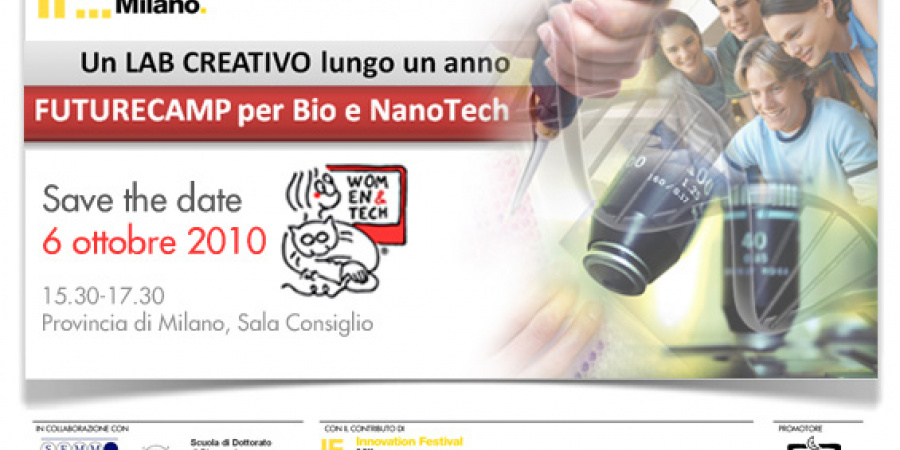 FutureCamp per Bio e NanoTech