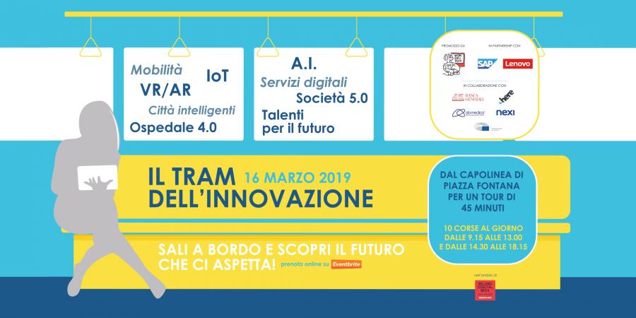 Il tram dell'Innovazione 2019